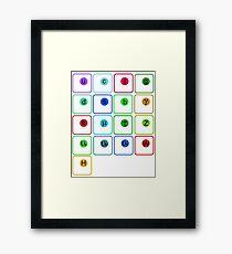 Standard Model of Physics Framed Print