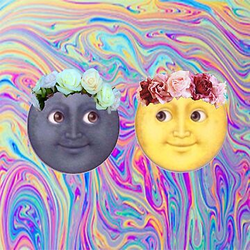 Emoji Moons by AestheticAttire