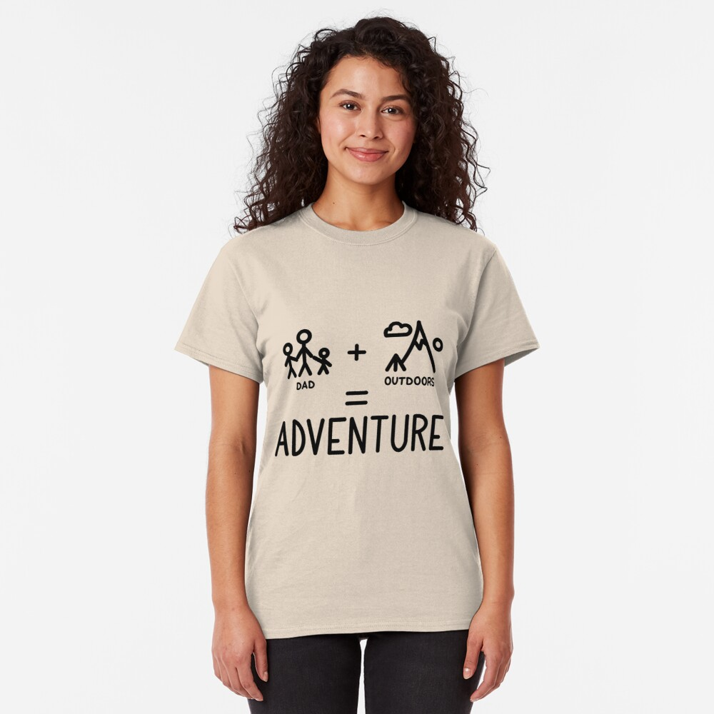 Adventure Dad Classic T-Shirt