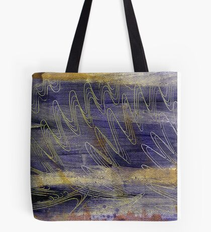 Water Waves Tote Bag