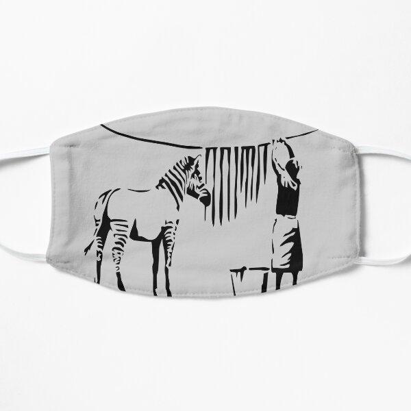 Banksy Zebra Masque sans plis