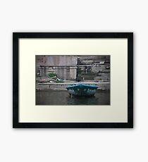 Single Boat Framed Print