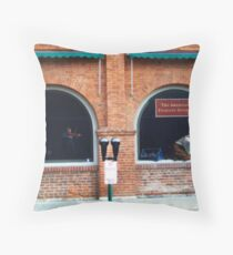 Folklife Windows Throw Pillow