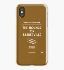 BBC Sherlock - The Hounds of Baskerville Minimalist iPhone Case/Skin