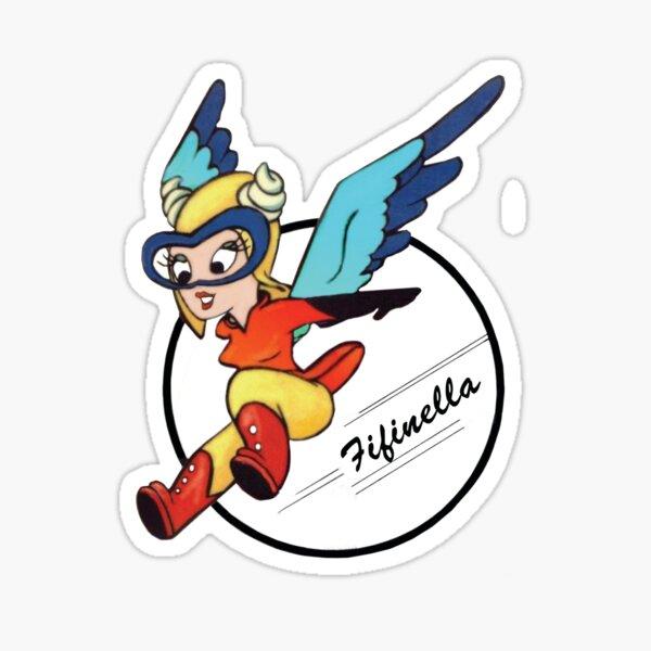 Fifinella WASP Shirt Sticker