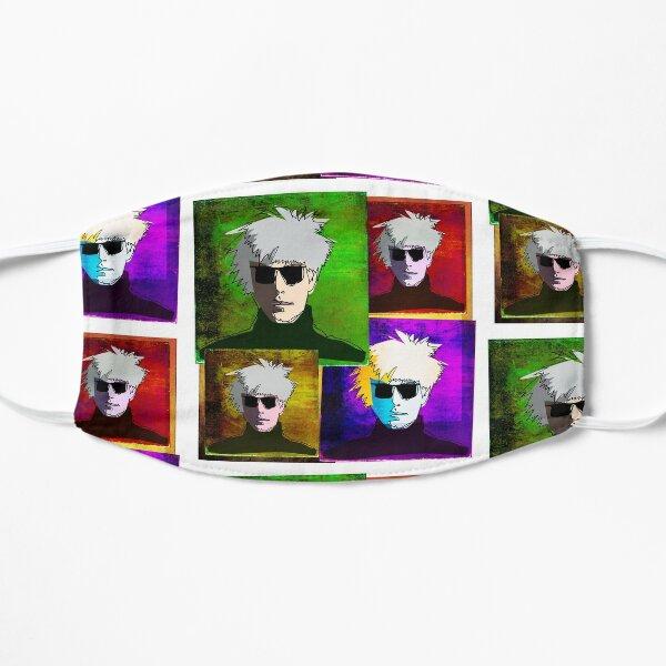 ANDY WARHOL COLLAGE - AMERICAN POP ARTIST Mask