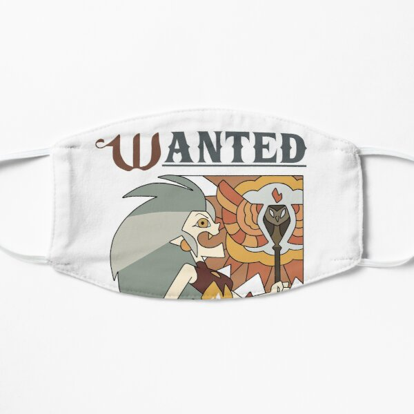 Wanted poster Flat Mask