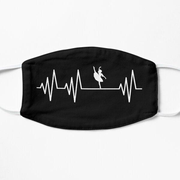 Ballet Dance Heartbeat T-Shirt Ballet Dance Girl Ballet Dance lovers Gift Mask