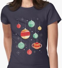 Joy to the Universe Women's Fitted T-Shirt