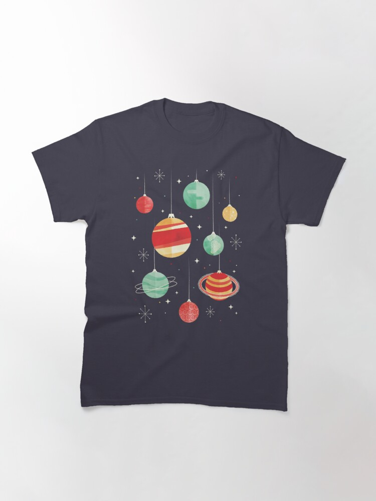 Alternate view of Joy to the Universe Classic T-Shirt