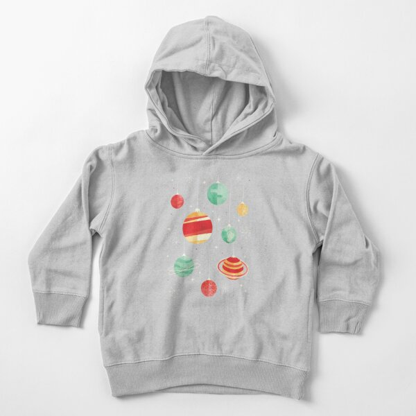 Joy to the Universe Toddler Pullover Hoodie