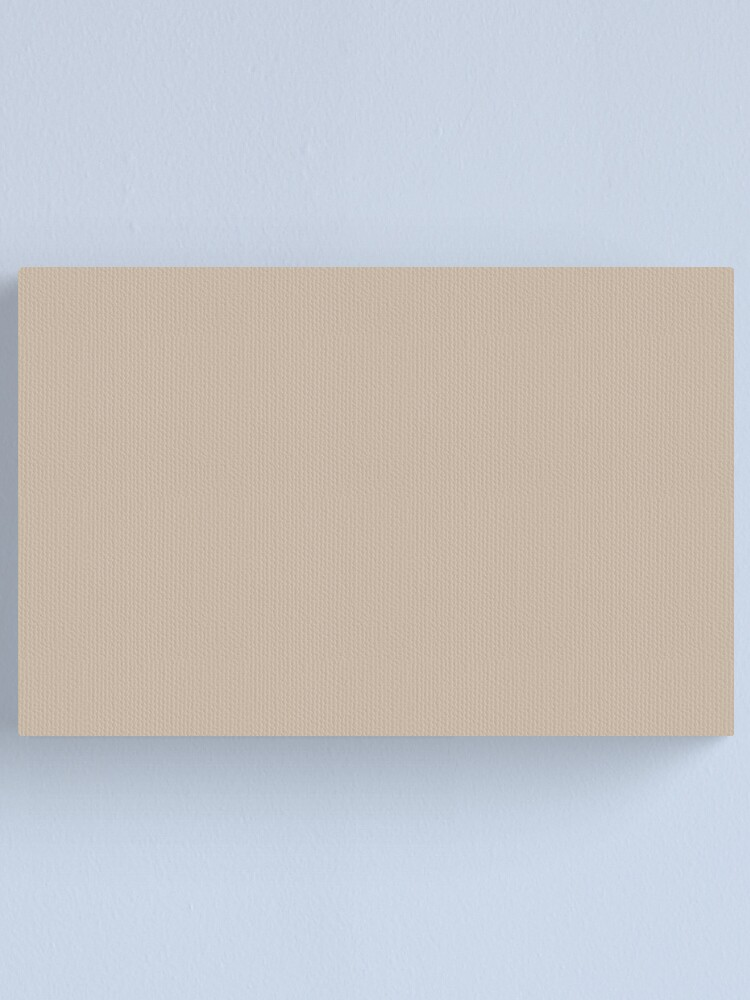 Beige Taupe Tan Khaki Solid Color Pairs To Sherwin Williams Trending Color Dhurrie Beige Sw 7524 Canvas Print By Simplysolid Redbubble