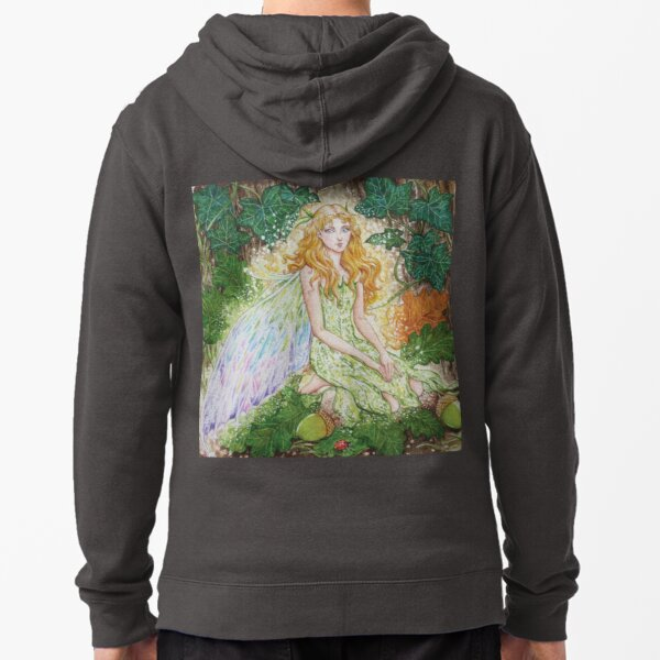 Forest Fairy Zipped Hoodie