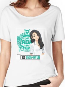 AOA Seolhyun (Heart Attack) Women's Relaxed Fit T-Shirt