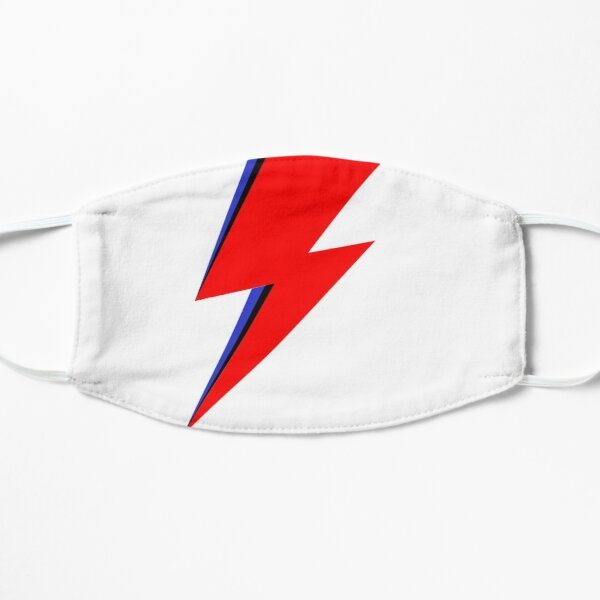 Bowie Bolt Flat Mask