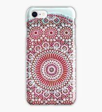 red capricorn iPhone Case/Skin