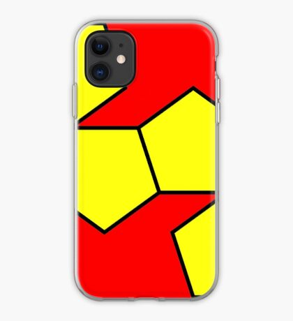 Dodecahedron NetImage  iPhone Case