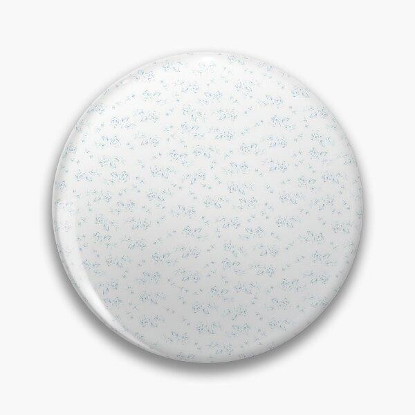 Blaue Rosen Button