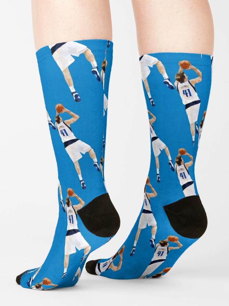 Alternate view of Dirk Nowitzki Fadeaway Socks