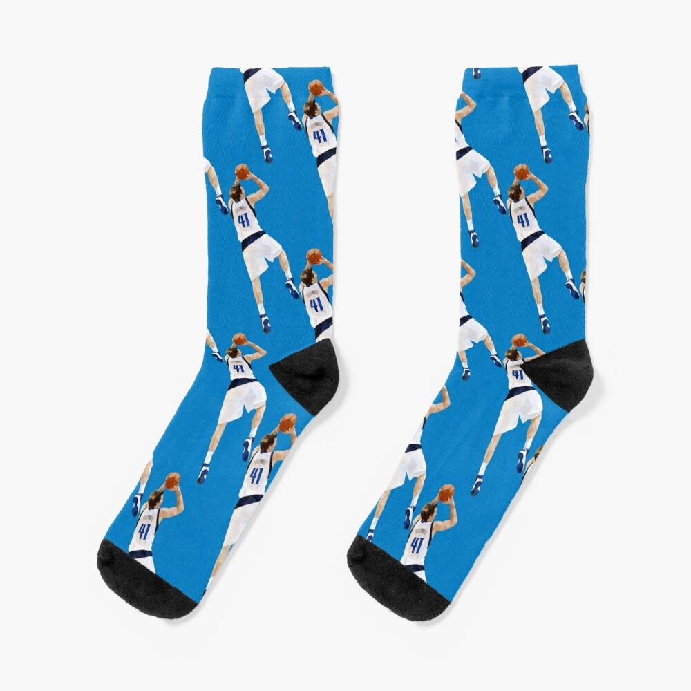 Dirk Nowitzki Fadeaway Socks