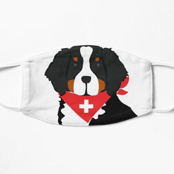 Bernese Mountain Dog Swiss Cross Flat Mask