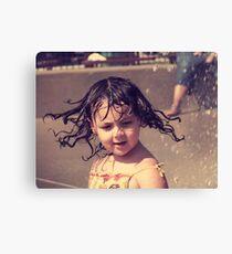 Splashes of Summer Canvas Print