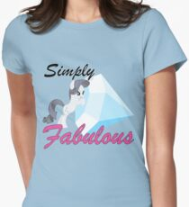 Rarity and Tom Women's Fitted T-Shirt