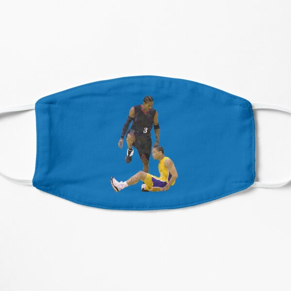 Allen Iverson Steps Over Tyronn Lue Low Poly Flat Mask