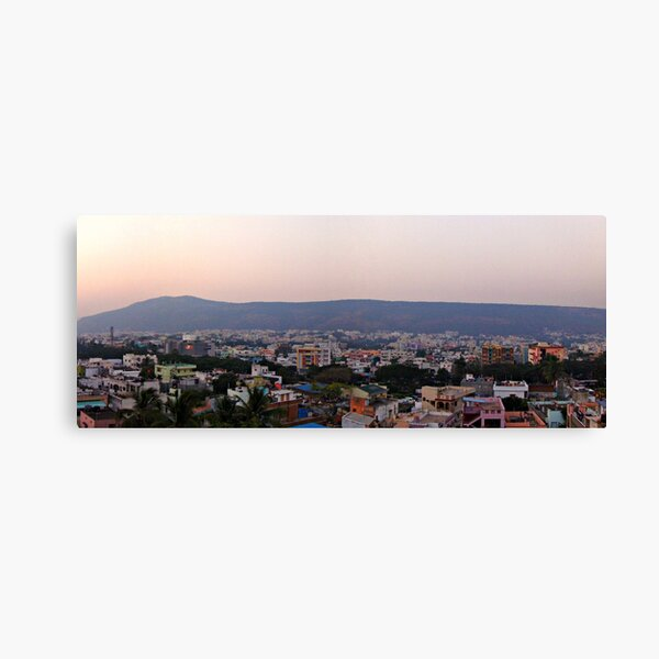 Sunset in Vizag Canvas Print