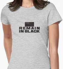 REMAIN IN BLACK Women's Fitted T-Shirt