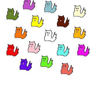 Cats by kattybatty13