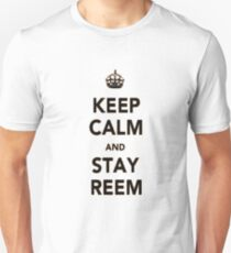 Keep Calm Reem Unisex T-Shirt
