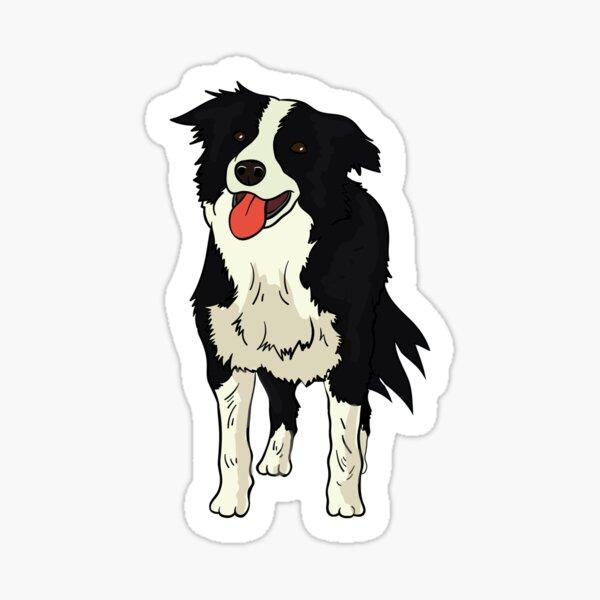 Border Collie Sticker Sticker