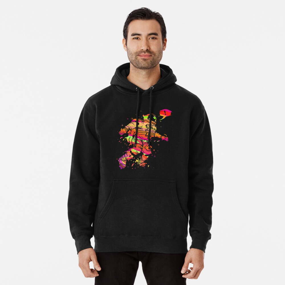 Spaced Out Pullover Hoodie