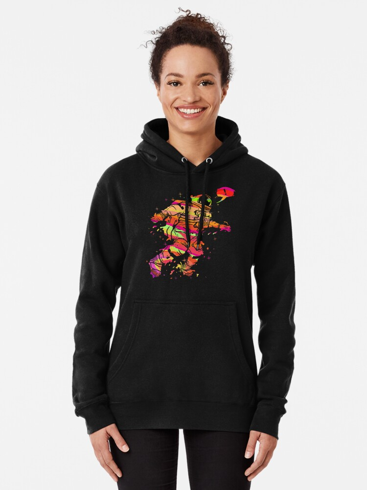 Alternate view of Spaced Out Pullover Hoodie