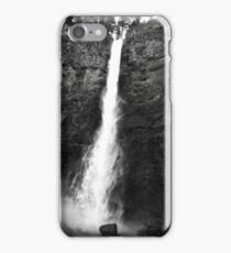 Multnomah Falls, Black and White iPhone Case/Skin