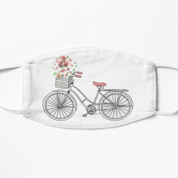floral bike Flat Mask