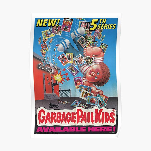 Garbage Pail Kid Poster