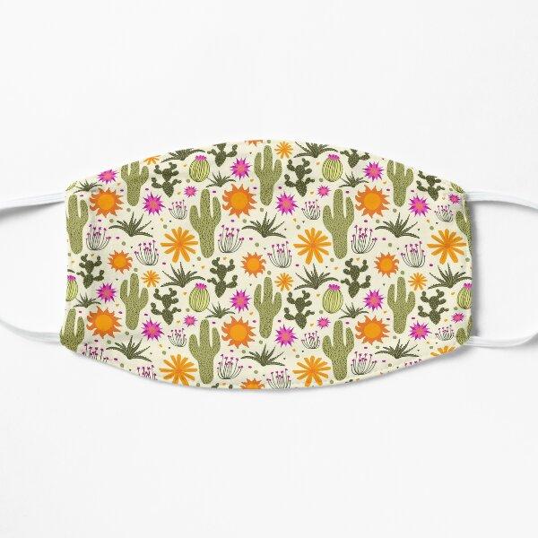 Desert Flora Pattern Flat Mask