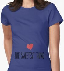 sweetest thing Womens Fitted T-Shirt