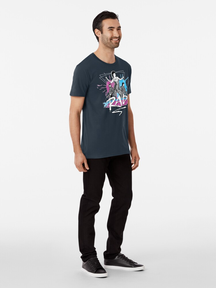 Alternate view of RAD : Music you can dance to! Premium T-Shirt