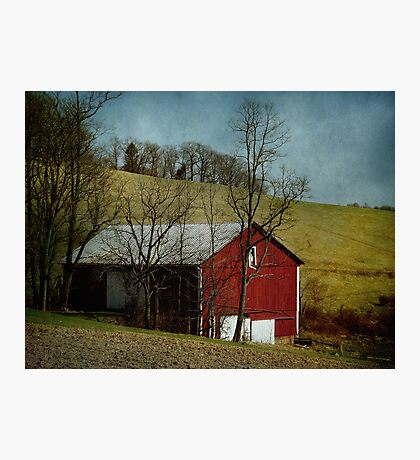 Another Barn, another day Photographic Print