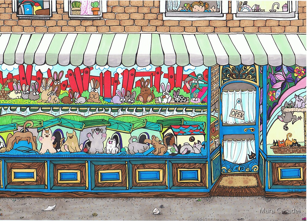 Molly's Pet Shop by Mara Casadei
