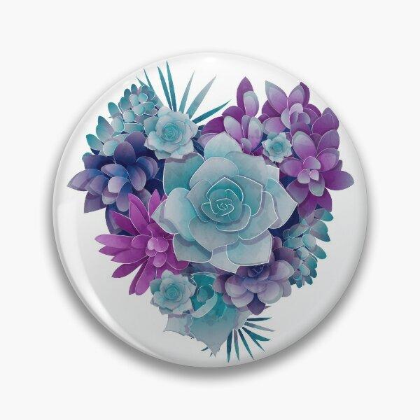 Succulent Love II Pin