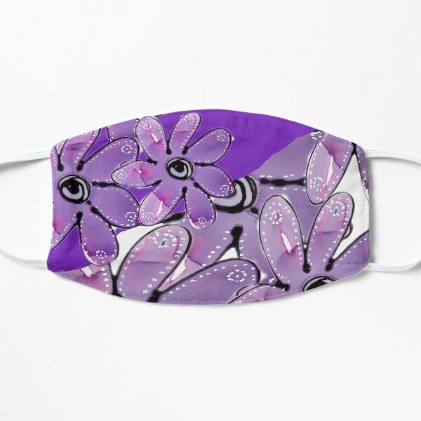 Purple Multi Floral Mask