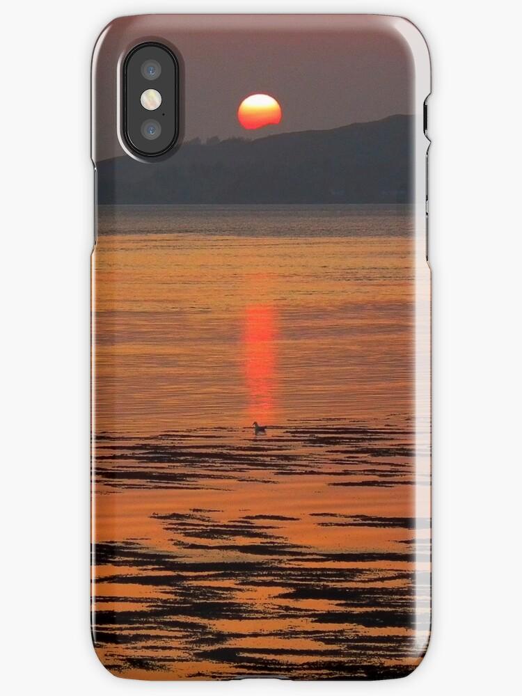 Scottish Sunset by dowzerr