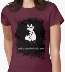 Evil has never looked this good. Women's Fitted T-Shirt