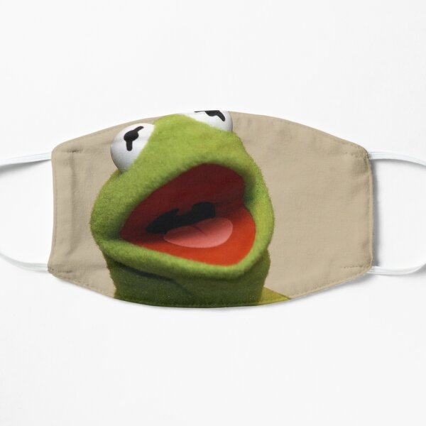 Kermit the Frog Flat Mask