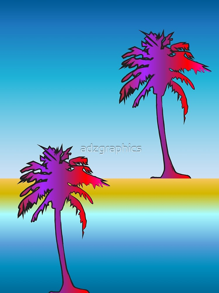 Miami Reflection by adzgraphics