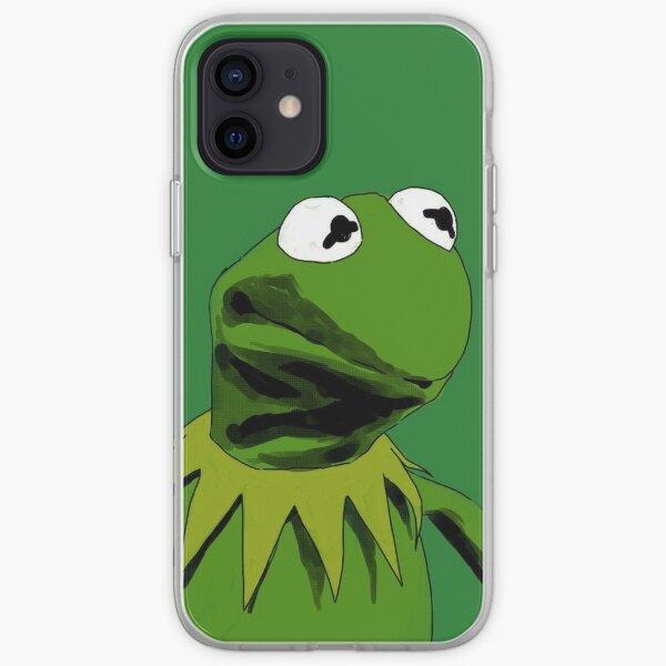 Kermit la rana Funda blanda para iPhone